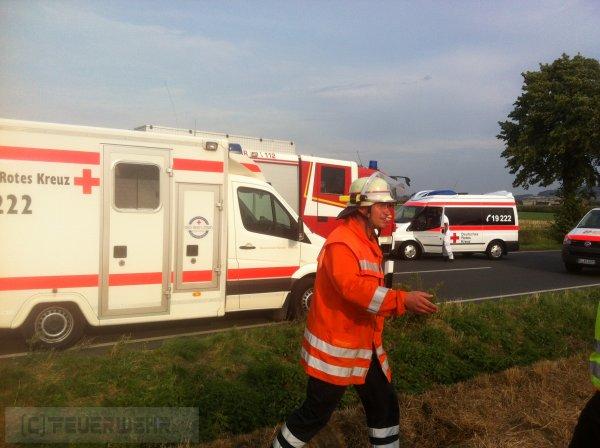 Hilfeleistung / VU vom 20.08.2012  |  FF Coppenbrügge (2012)