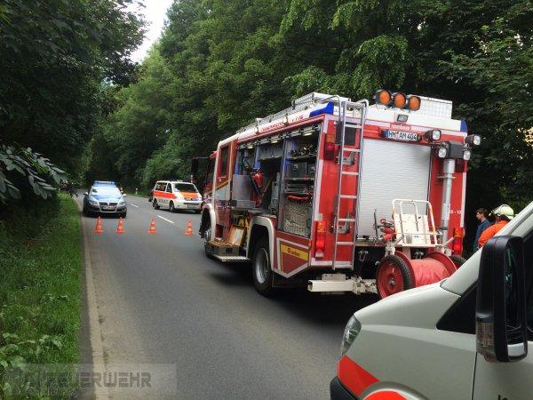 Hilfeleistung / VU vom 18.07.2015  |  FF Coppenbrügge (2015)